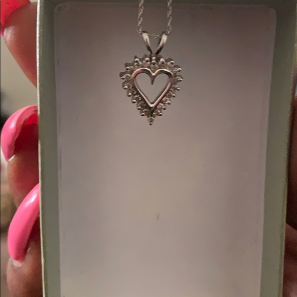 Kay Jewelers Jewelry - White Gold Diamond Necklace